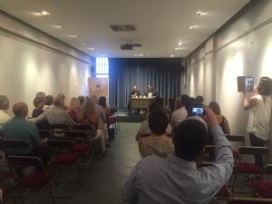 Autor y editor presentan la obra en la Alianza Francesa